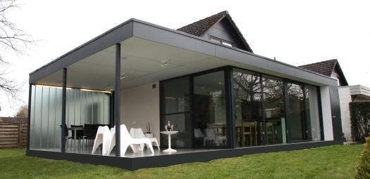 Bellemans architecten projecten renovatie b0806 - Uitbreiding veranda ...